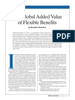 Global Added Value of Flexible Benefits