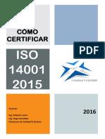 Como Certificar ISO 14001-2015