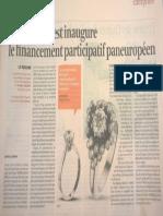 MyMicroInvest inaugure le financement participatif paneuropéen