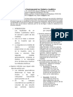 Medidas e Instrumental en Quimica Analitica