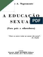 A educação sexual para pais e educadores