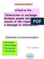 Chapter 7 Communications Powerpoint