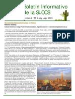 Boletin Informativo de La SLCCS 2005 2 May-Ago