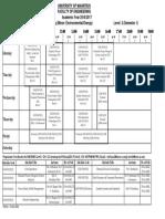BEng (Hons) Chemical Engineering (Minor-Environemental-Energy) - Level 3