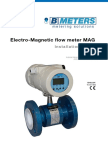 Electro-Magnetic Flow Meter MAG