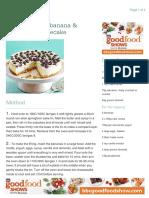 Baked Almond, Banana & Blueberry Cheesecake (265) - 10