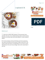 Baked Eggs With Spinach & Tomato (114) - 4