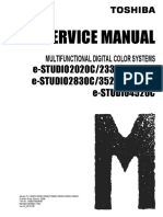 Toshiba 2330 Service manual