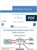 DTC-HMT Verif Overview