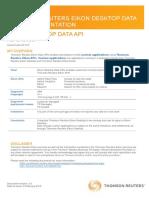 Eik on Desktop Data a Pi
