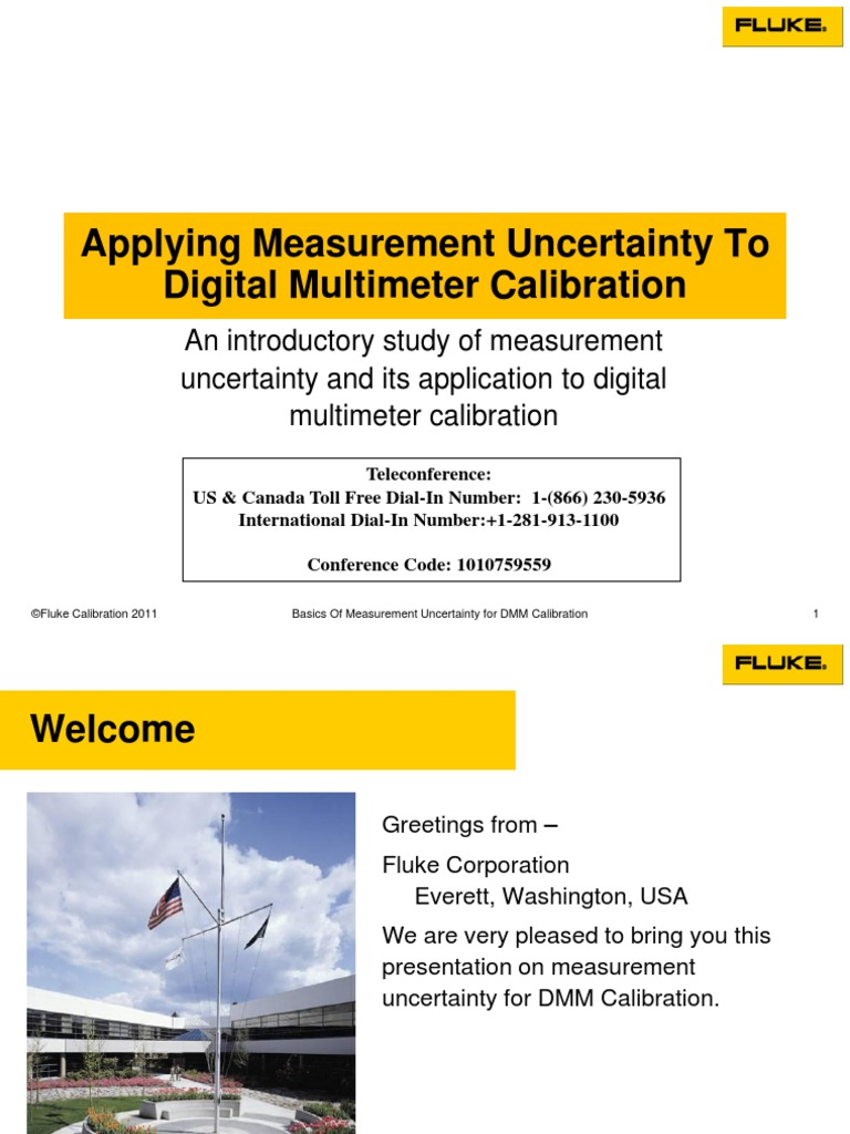 Uncertainty Presentation Digital Multimeter | Uncertainty