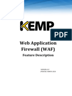 Feature Description-KEMP Web Application Firewall