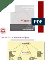BCom Honours Marketing Management Notes