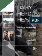 Dairy Herd Health - Martin_Green