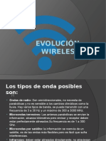 Evolución Wireless