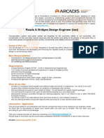 ARCADIS - Roads Bridges Design Engineer
