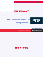 Chapter 7 IIR Filters