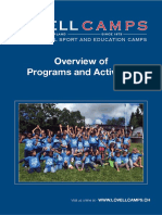 Lovell Camps Programs Overview