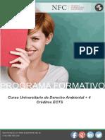 Curso Universitario de Derecho Ambiental + 4 Créditos ECTS