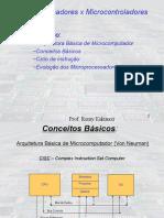 Microprocessadores vs Microcontroladores