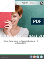 Curso Universitario en Asesoría Contable + 4 Créditos ECTS