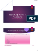 Signals Spectra Processing PowerPoint Presentation