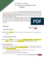 Delf b2 Exemple de Production Orale