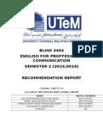 Cnc Recommendation Report Epc