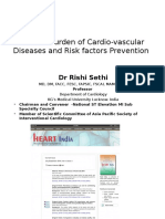 Cardiologist Prof Rishi Sethi' presentation on World Heart Day