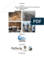 Activities Final Report - Colombia Marina Foundation 2007