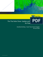 DFDL Breakfast Seminar Thai Solar and Gvt and AC Pgm Presentation 280616 FINAL