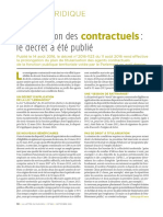 Titularisation Des Contractuels