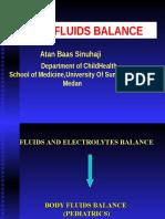 K - 39 Body Fluid Balance (Ilmu Kesehatan Anak)