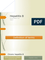 Hepatitis B - Luis