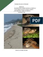 Informe Final de Actividades Fundacion Colombia Marina Tayrona 2008