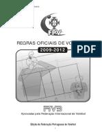 2009-2012 Regras Voleibol