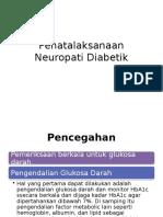 Tata Laksana Neuropati Diabetik