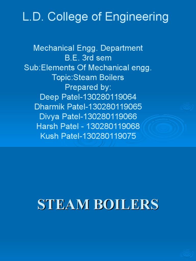 Enroll 64 65 66 68 75 eme | Boiler | Steam Engine