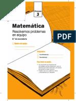 Http Www.perueduca.pe Recursosedu Cuadernillos Secundaria Matematica Proceso Cuadernillo Proceso3 Matematica 2do Grado