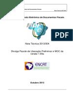MDFe Nota Tecnica 2013 0041