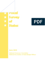 The Fiscal Survey of States