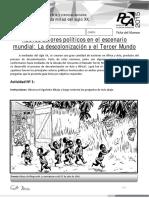 AE 9 La Descolonización y El Tercer Mundo