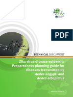 Zika Preparedness Planning Guide Aedes Mosquitoes