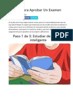3 Pasos Para Aprobar Un Examen.docx