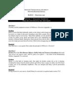 BU8301 - Case Law & Statutory Law Techniques - Discussion Questions