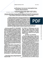Isolation of Drug-Resistant Aeromonas Hydro Phi La From