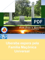 Uberaba Espera Pela Família Maçônica Universal.ppt