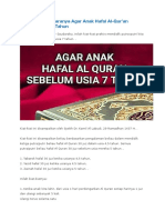 Tips Hapal Alquran