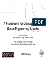 A Framework for Conceptualizing Social Engineering Attacks