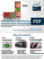 Hyper v Ibm Intel and Microsoft Webcast 2-11-09